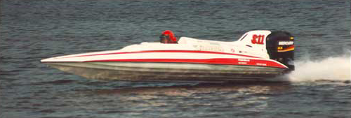 Key Puckett Racing Boat