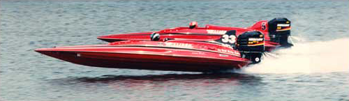 Ryan Robertson Racing Boat